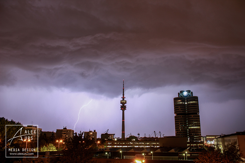 Lightning on Munich