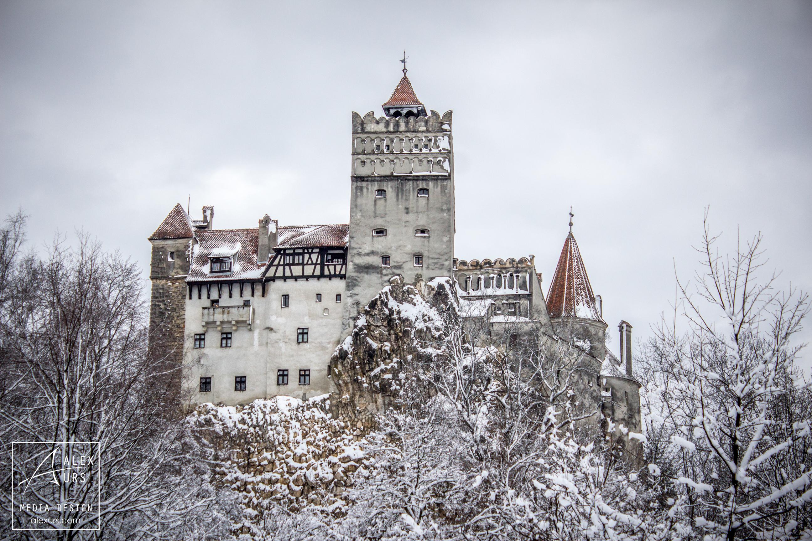 Schlösser: Bran, Rumänien