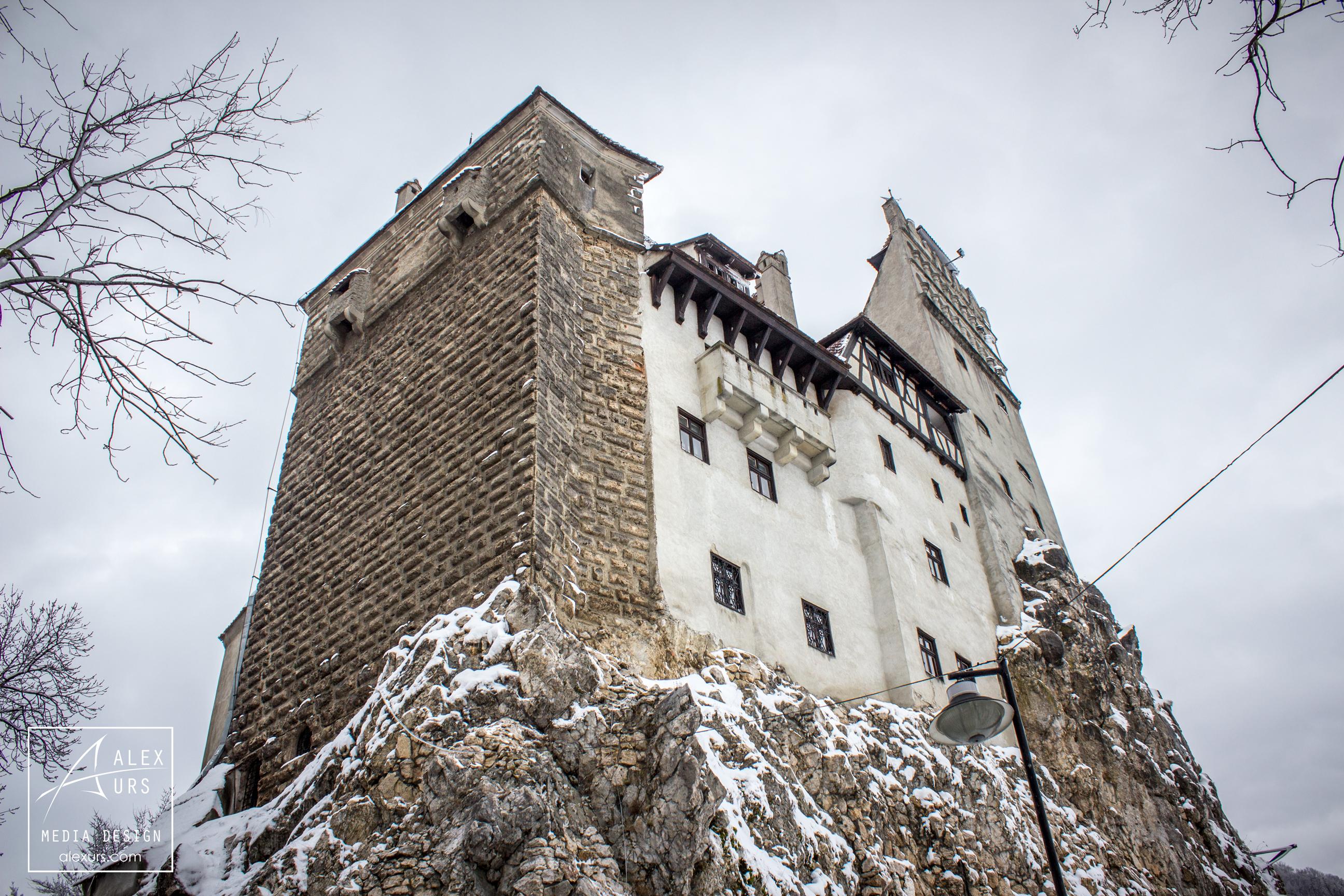 Bran Castle Perspective