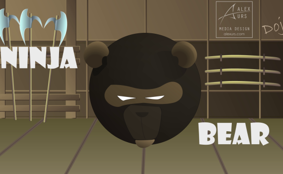 Ninja Bear animation screenshot