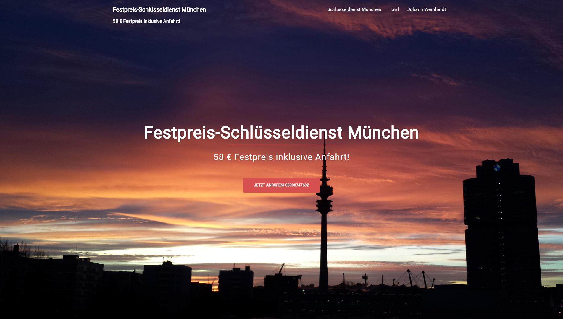 Festpreis-Schlüsseldienst-München