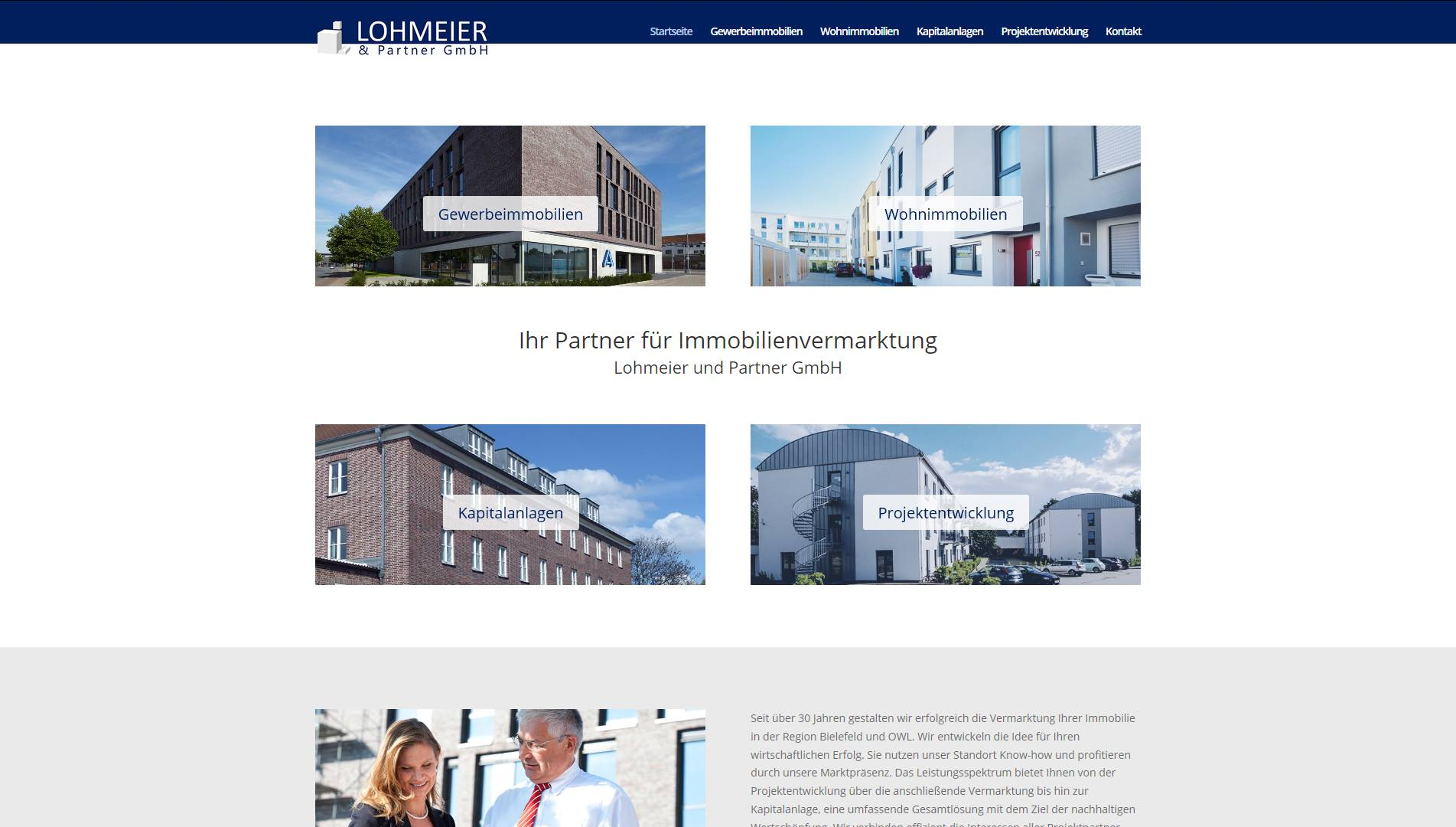 cheaper 6b016 1ba0e Lohmeier & Partner Immobilien   ALEX URS MEDIA DESIGN ...